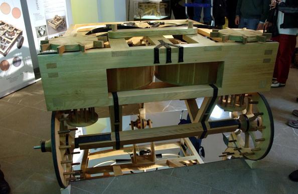 Tuscany「Model Of Leonardo da Vinci's Car On Display In Florence」:写真・画像(2)[壁紙.com]