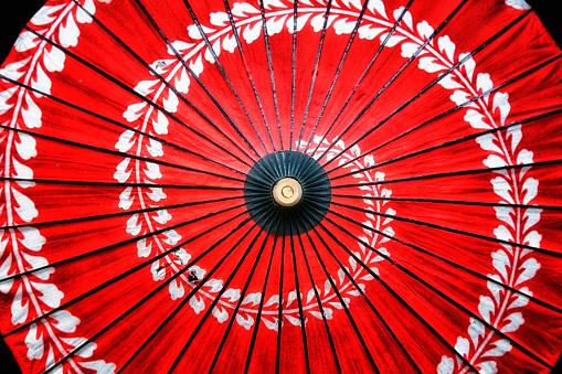Tradition「Paper parasol, Kyoto, Japan」:スマホ壁紙(6)