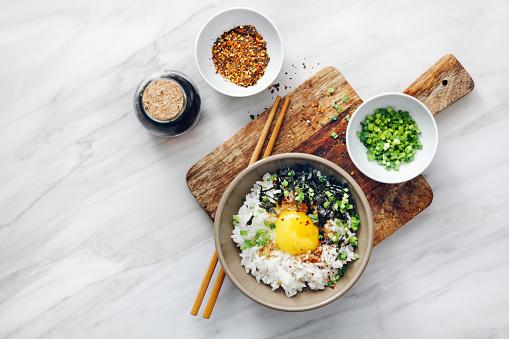 Soy Sauce「Japanese breakfast Tamago kake gohan」:スマホ壁紙(10)