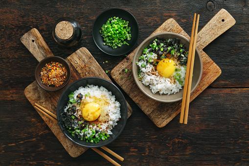 Soy Sauce「Japanese breakfast Tamago kake gohan」:スマホ壁紙(11)