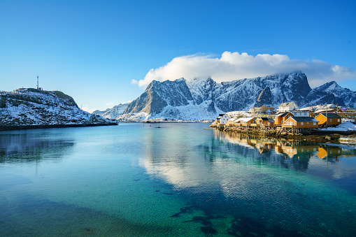 Bay of Water「Lofoten islands in Northern Norway」:スマホ壁紙(12)