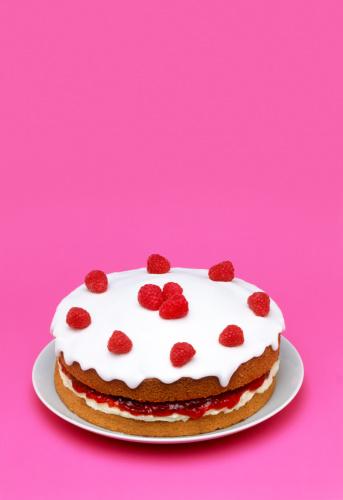 Raspberry「Raspberry sponge cake with copy space」:スマホ壁紙(7)
