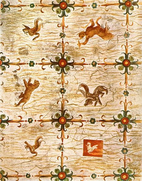 Ceiling「Ceiling Decoration In Neros Domus Aurea」:写真・画像(7)[壁紙.com]