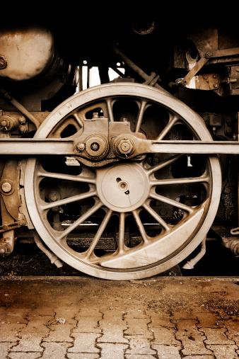 SL「旧蒸気機関車ホイール」:スマホ壁紙(6)