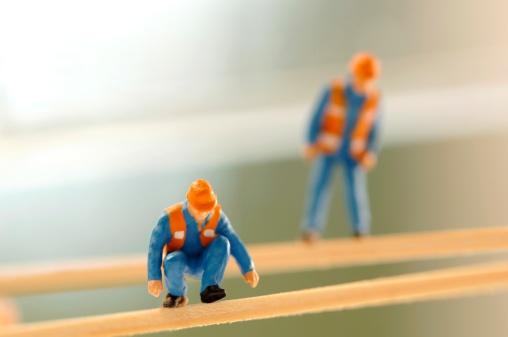 Figurine「Figurines of construction worker」:スマホ壁紙(1)
