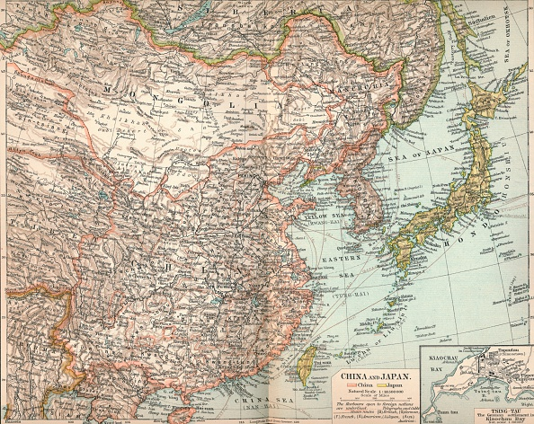 East Asia「China and Japan, c1903, (1904)」:写真・画像(1)[壁紙.com]