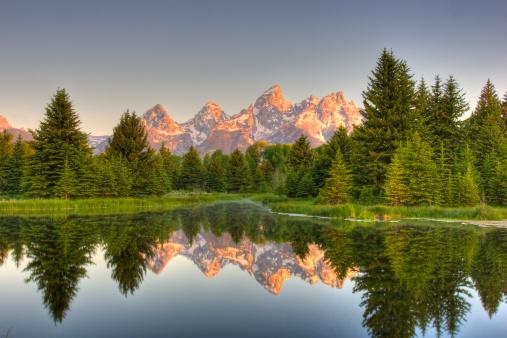 Wilderness Area「Grand Teton Mountains」:スマホ壁紙(17)