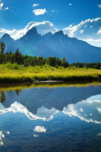 Grand Teton「Grand Teton National Park Snake River and Mountain Range」:スマホ壁紙(10)