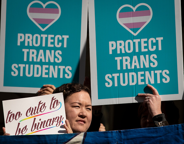 Activist「Rally Held In Support Of Transgender Community」:写真・画像(19)[壁紙.com]