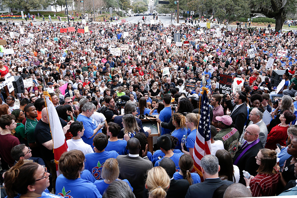 Tallahassee「Parkland Students, Activists, Rally At Florida State Capitol For Gun Control」:写真・画像(1)[壁紙.com]