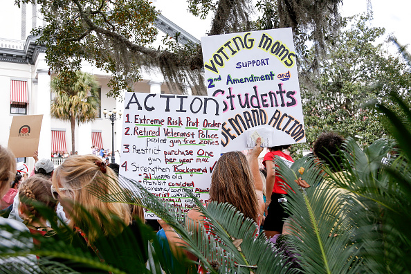 Tallahassee「Parkland Students, Activists, Rally At Florida State Capitol For Gun Control」:写真・画像(6)[壁紙.com]