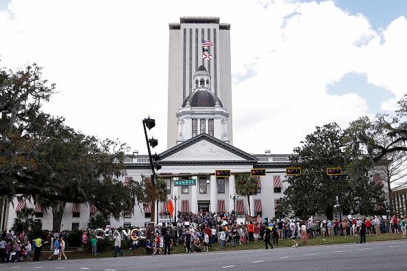 Florida State Capitol「Parkland Students, Activists, Rally At Florida State Capitol For Gun Control」:写真・画像(8)[壁紙.com]