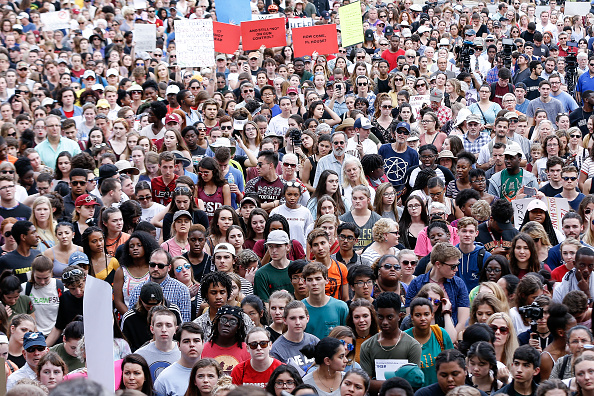 Tallahassee「Parkland Students, Activists, Rally At Florida State Capitol For Gun Control」:写真・画像(14)[壁紙.com]