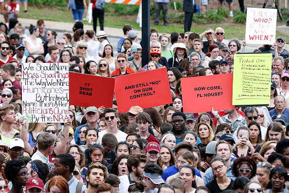Tallahassee「Parkland Students, Activists, Rally At Florida State Capitol For Gun Control」:写真・画像(12)[壁紙.com]