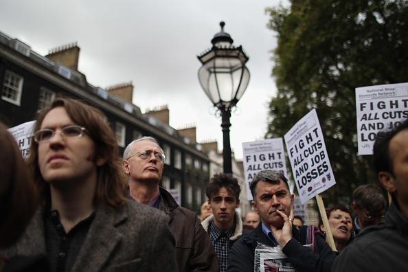 Dan Kitwood「Protests Are Held Throughout The UK Opposing The Coalition Government's Spending Review」:写真・画像(1)[壁紙.com]