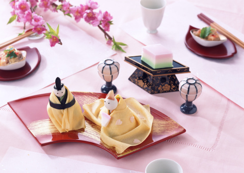 Hinamatsuri「Sushi for the Doll Festival」:スマホ壁紙(9)