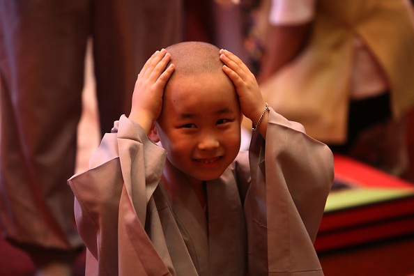 Buddhism「Children Become Buddhist Monks In Seoul」:写真・画像(15)[壁紙.com]