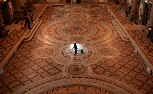 Tiled Floor「St George's Hall's Ornate Floor Is Set To Open To The Public」:写真・画像(14)[壁紙.com]