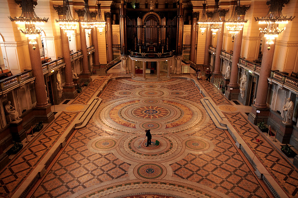 Tiled Floor「St George's Hall's Ornate Floor Is Set To Open To The Public」:写真・画像(16)[壁紙.com]