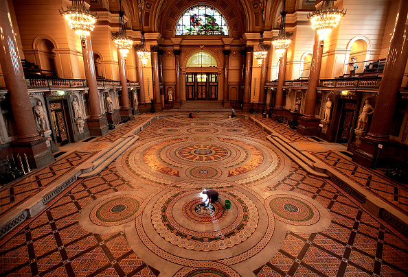 Tiled Floor「St George's Hall's Ornate Floor Is Set To Open To The Public」:写真・画像(15)[壁紙.com]