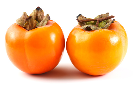 persimmon「Two kaki fruits」:スマホ壁紙(7)