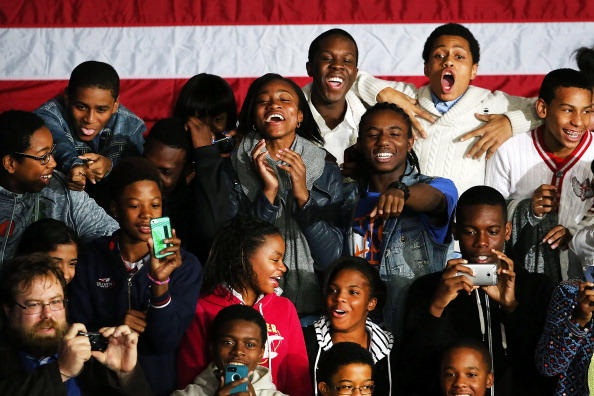 Footpath「President Obama Delivers Address At Brooklyn High School」:写真・画像(1)[壁紙.com]