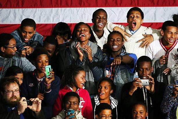 President Obama Delivers Address At Brooklyn High School:ニュース(壁紙.com)
