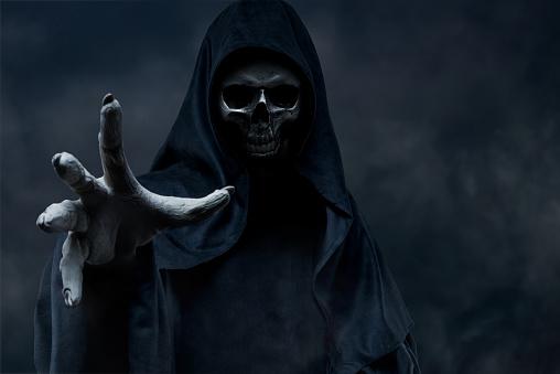 ハロウィン「死神」:スマホ壁紙(5)
