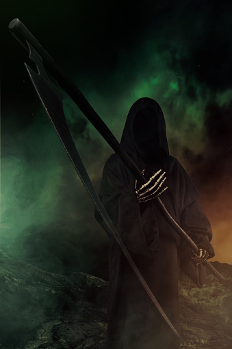 Demon - Fictional Character「Grim Reaper」:スマホ壁紙(15)