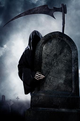 ハロウィン「死神」:スマホ壁紙(14)