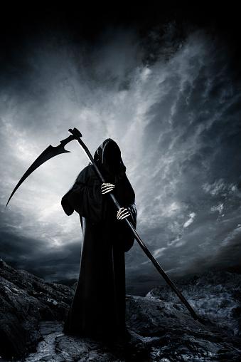 Evil「Grim Reaper」:スマホ壁紙(1)