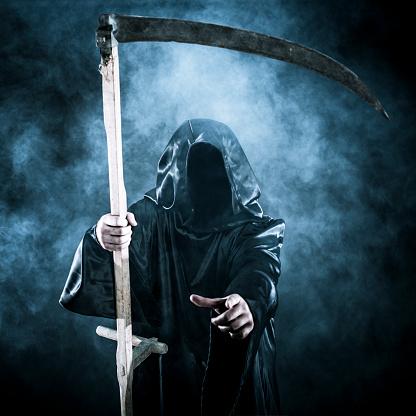 雪「Grim reaper」:スマホ壁紙(1)