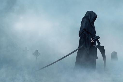 露「Grim Reaper」:スマホ壁紙(5)