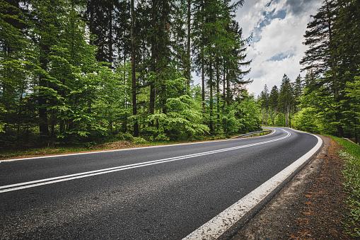Wilderness「panoramic mountain road (HDRi)」:スマホ壁紙(6)