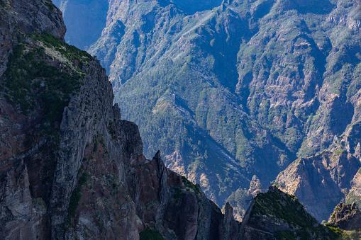 Pico Do Arieiro「panoramic mountain view」:スマホ壁紙(16)