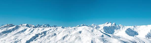 パノラマに広がる山脈:スマホ壁紙(壁紙.com)