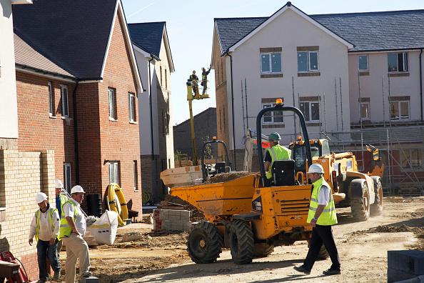 Construction Site「New housing development, Cambridge, England, UK」:写真・画像(17)[壁紙.com]