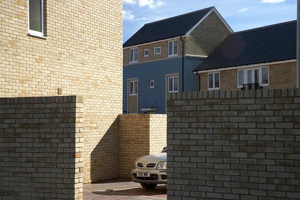 Brick Wall「New housing development, Cambridge, England, UK」:写真・画像(11)[壁紙.com]