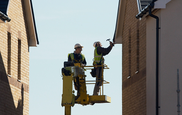 Roofer「New housing development, Cambridge, England, UK」:写真・画像(16)[壁紙.com]