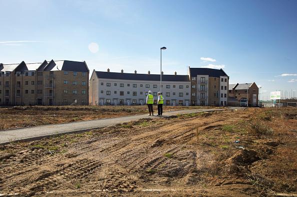 Housing Development「New housing development, Cambridge, England, UK」:写真・画像(11)[壁紙.com]