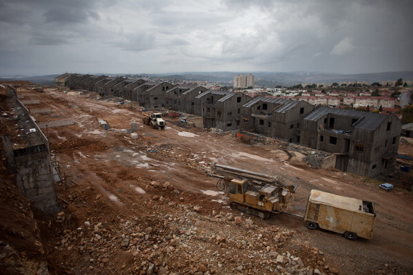 West Bank「Construction Continues As West Bank Settlement Debate Rages」:写真・画像(16)[壁紙.com]