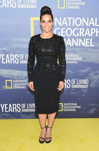 "America Ferrera「National Geographic's ""Years Of Living Dangerously"" New Season World Premiere」:写真・画像(16)[壁紙.com]"