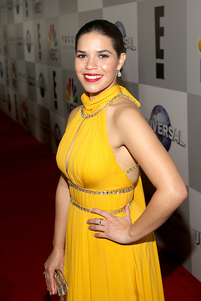 Yellow Dress「Universal, NBC, Focus Features, E! Entertainment - Sponsored by Chrysler - After Party」:写真・画像(16)[壁紙.com]