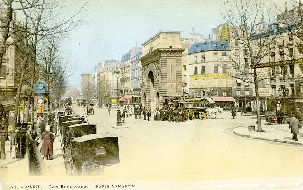 Physical Geography「Porte Saint - Martin , Paris, c. 1900.」:写真・画像(9)[壁紙.com]