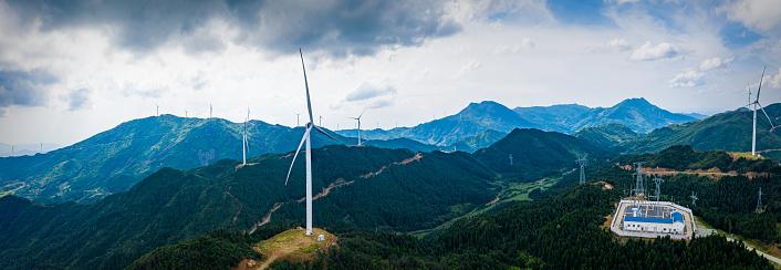 A Helping Hand「Uphill wind power station」:スマホ壁紙(0)