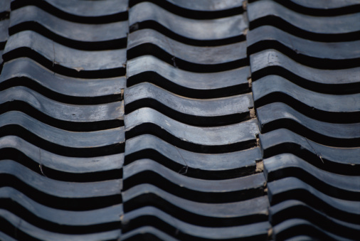 Tradition「Gray roof tiles, close-up」:スマホ壁紙(3)