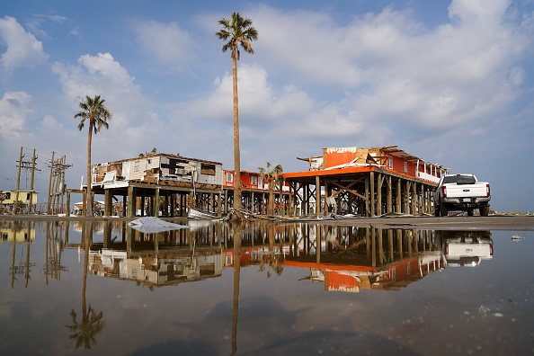 Destruction「Hurricane Ida Makes Landfall In Louisiana Leaving Devastation In Its Wake」:写真・画像(7)[壁紙.com]
