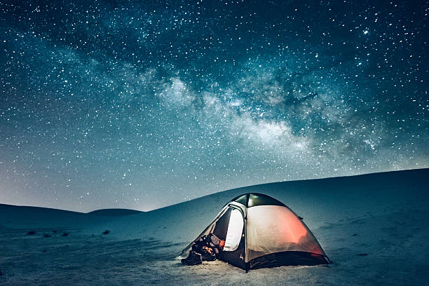 Backcountry Camping under the Stars:スマホ壁紙(壁紙.com)