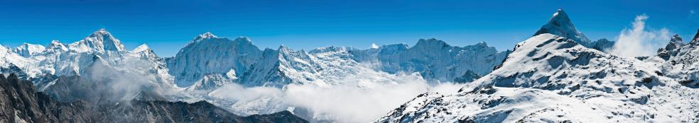 Island Peak「Himalaya mountain peak wilderness panorama Nepal」:スマホ壁紙(1)