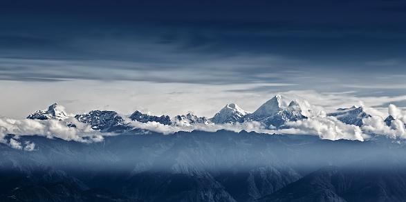 エベレスト山「Himalaya Mountains, Nepal」:スマホ壁紙(4)